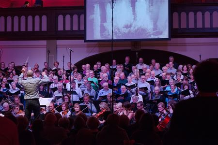 Indrukwekkend concert 'A mass for peace'